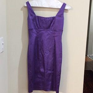 Calvin Klein lilac sheath dress. Size 4
